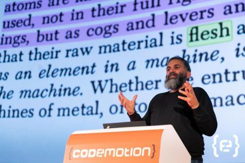 CODEMOTION MADRID Day1 Keynote Cuartielles